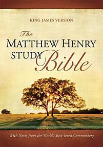 Matthew Henry Study Bible - KJV (Black)