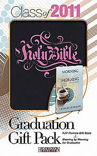 Graduation Gift Pack: Thinline KJV Gift Bible & Morning by Morning for Graduates
