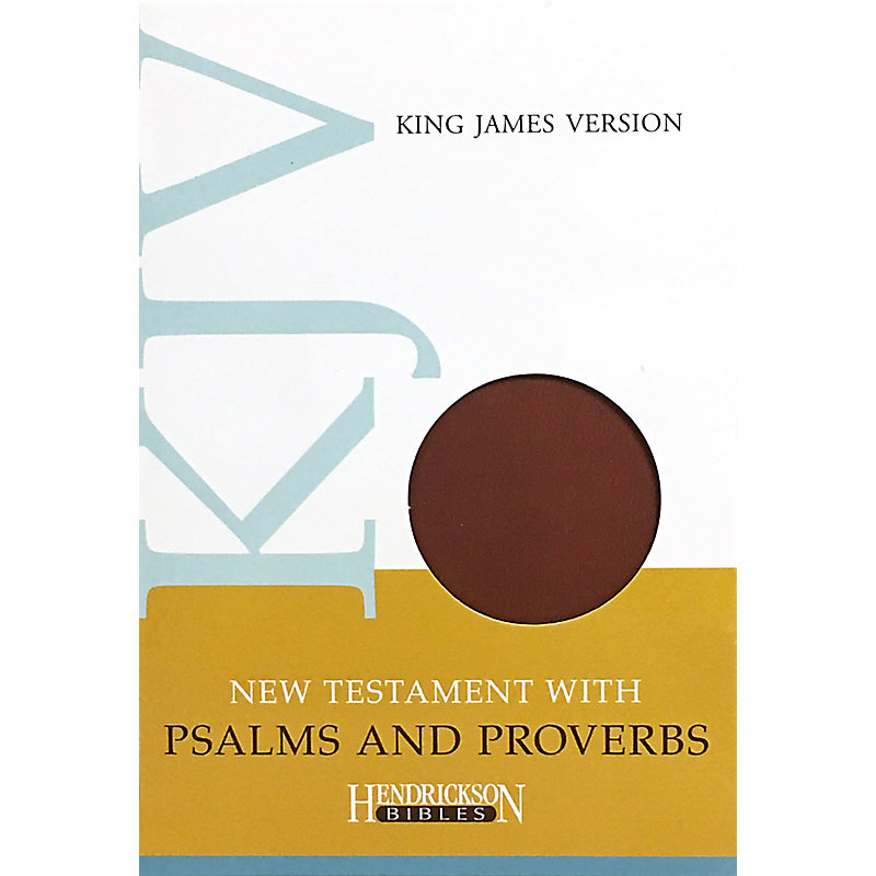 New Testament with Psalms and Proverbs-KJV                                                                                                             (Espresso)