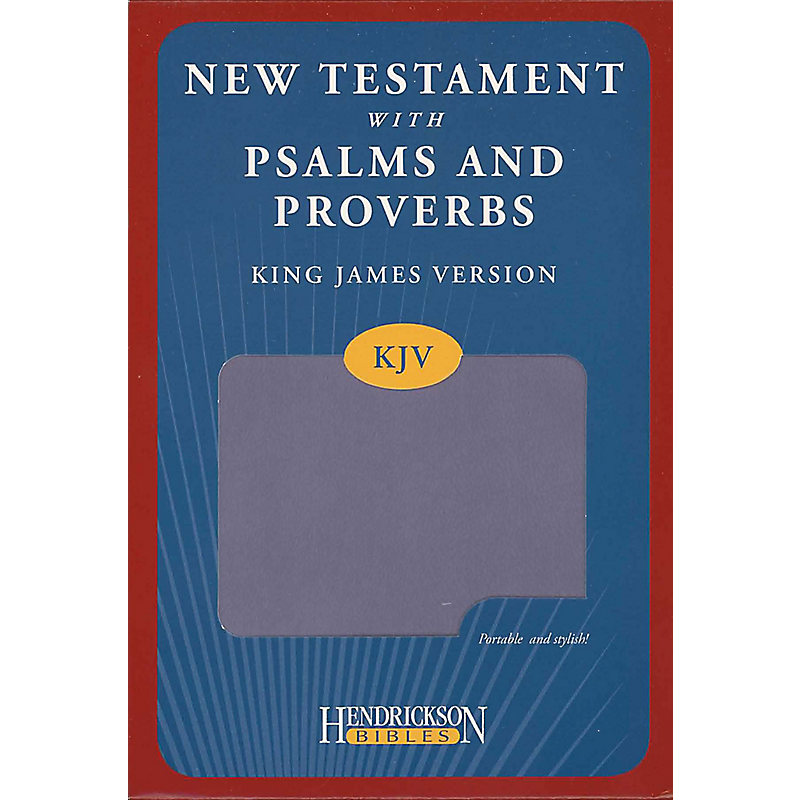 New Testament with Psalms and Proverbs-KJV                                                                                                             (Lilac)