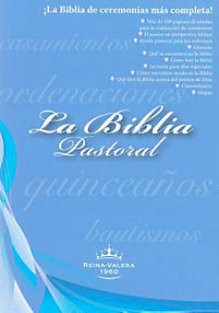 La Biblia Pastoral Reina-Valera 1960-FL                                                                                                                (Black)