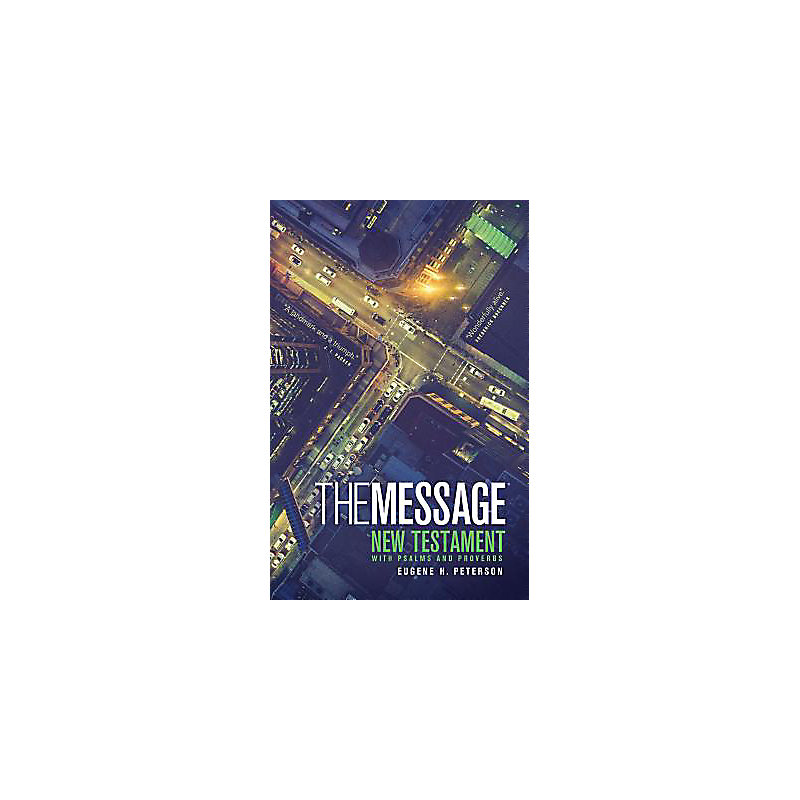 The Message Numbered Edition Personal New Testament/Psalms/Proverbs (Blue)