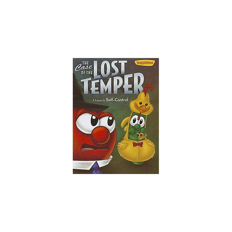 VeggieTales the Case of the Lost Temper Book