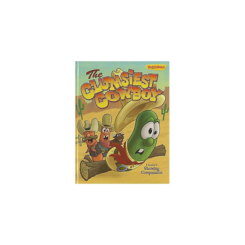 VeggieTales the Clumsiest Cowboy Book