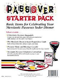 Passover Starter Pack: Basic Items for Celebrating Your Messianic Passover Seder Dinner