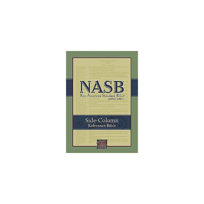 NASB Side-Column Reference Bible - Black