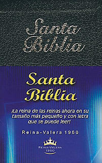 Santa Biblia-Rvr 1960-Mini                                                                                                                             (Black)