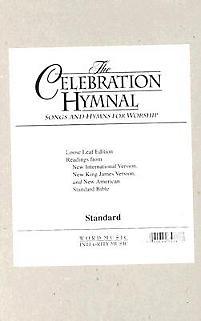 Celebration Hymnal - NAS Loose Leaf Edition