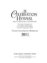 Celebration Hymnal - Tenor Saxophone