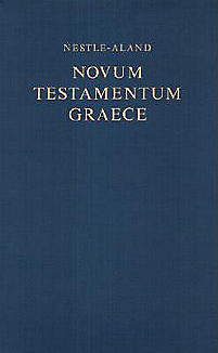 Greek New Testament-FL-Nestle-Aland-Large Print (Blue)