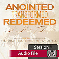 Anointed, Transformed, Redeemed: A Study of David - Audio Sessions (Audio Download)