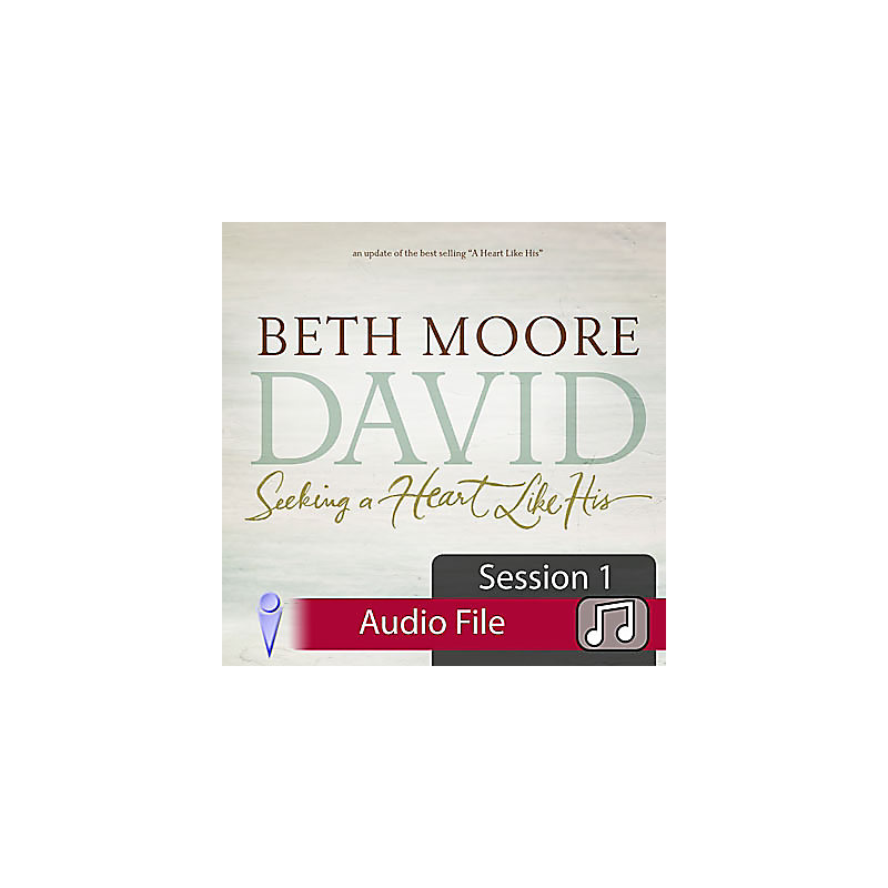 David: Seeking a Heart Like His - Audio Sessions (Audio Download)