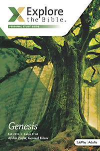 Explore the Bible: Adult Personal Study Guide - Fall 2015 - Large Print