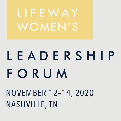 LifeWay Women's Leadership Forum Event