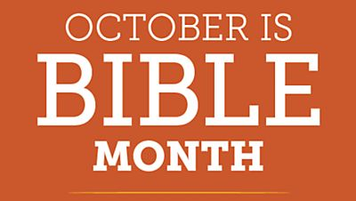 October is Bible Month