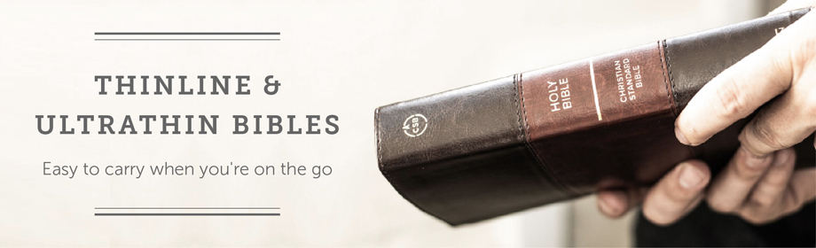 Thinline and Ultrathin Bibles