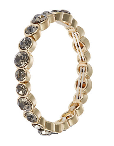 CATHERINE STEIN Oval Stone Stretch Bracelet