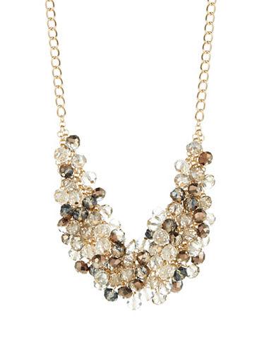CATHERINE STEINBeaded Mesh Collar Necklace