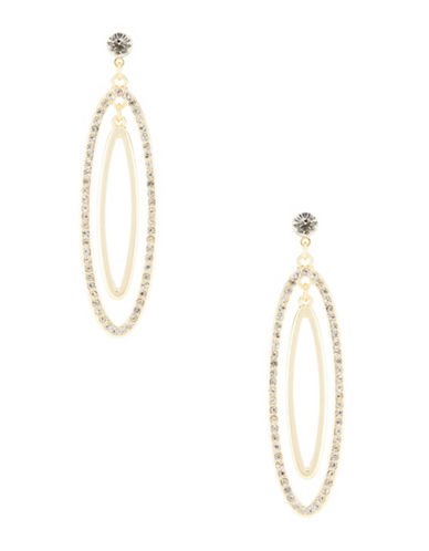 CATHERINE STEINPave Oval Drop Earrings
