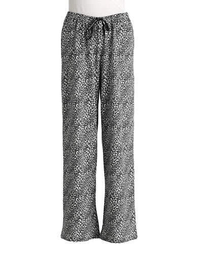 HUEPlus Leopard Print Cotton Sleep Pants