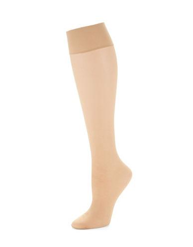 HUETwo Pack Sheer Knee High Socks