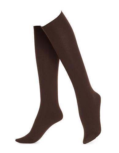 HUEPLUS No Band Knee High Socks