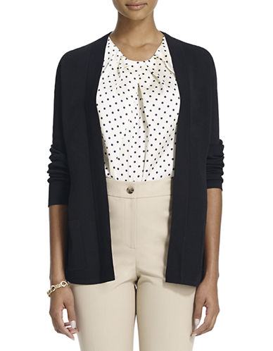 JONES NEW YORK PLUS Plus Long-Sleeved Open Cardigan