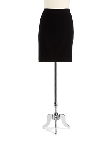 ANNE KLEIN PETITE Petite Yoke Pencil Skirt