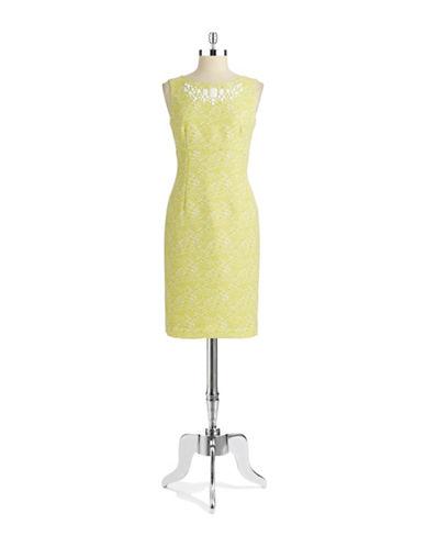 JONES NEW YORKBead Accented Shift Dress