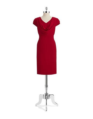 ANNE KLEINDraped Dress