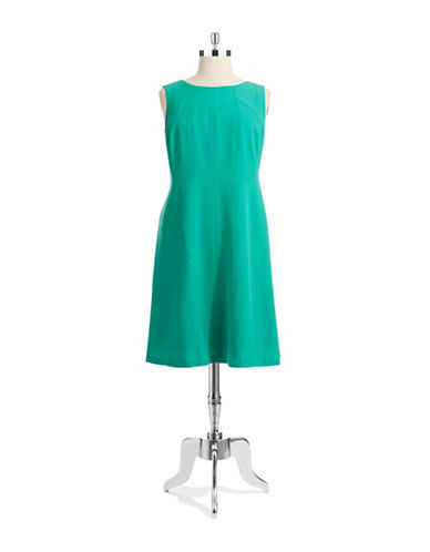 Jones New York Plus Plus Seamed Dress