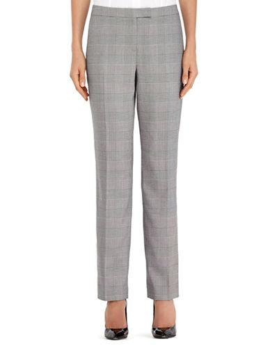 JONES NEW YORK PETITESPetite Sydney Glen Plaid Slim Pants