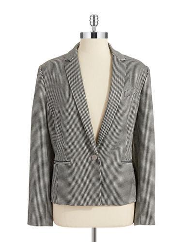 ANNE KLEINGingham Jacket