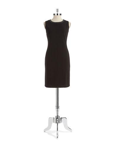 Shop Jones New York online and buy Jones New York Ribbed Sheath Dress dress online