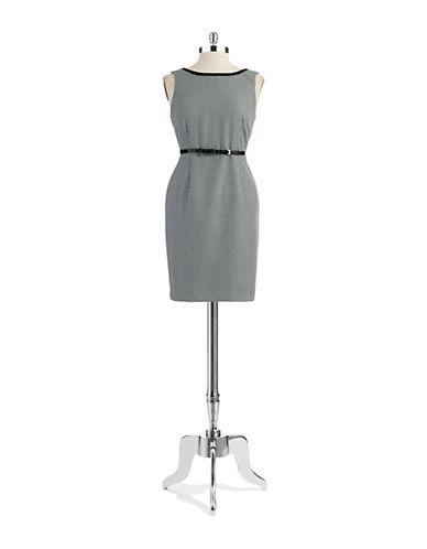 ANNE KLEIN PETITEPetite Geo Print Sheath Dress
