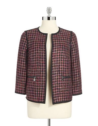 ANNE KLEINFlyaway Tweed Blazer