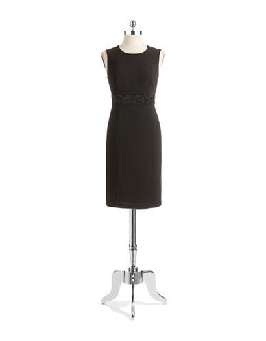 NIPON BOUTIQUEJeweled Waist Dress