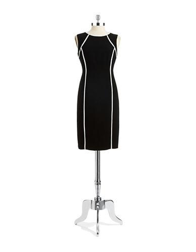 NIPON BOUTIQUESheath Dress With Contrast Trim