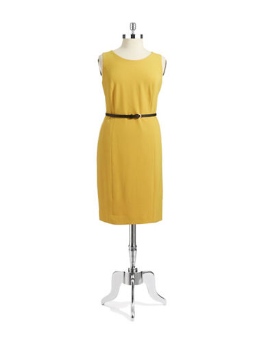 NIPON BOUTIQUEPlus Belted Sheath Dress