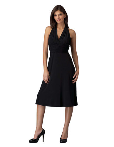 Plus Plus-Size' Marilyn Empire-Waist Halter Dress
