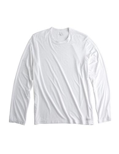 CALVIN KLEINLong-Sleeved Crewneck T-Shirt