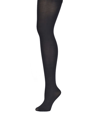 DONNA KARANSueded Jersey Control Top Tights