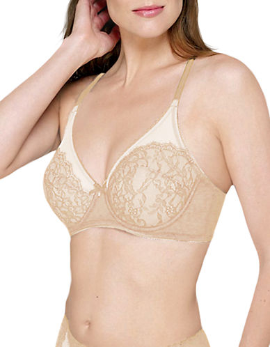Full Size Retro Chic Full Figure Underwire Bra $60.00 AT vintagedancer.com