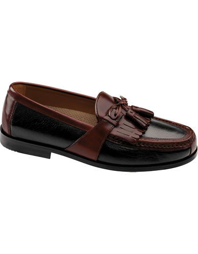 JOHNSTON & MURPHYAragon II Deerskin Tassel Loafers - Smart Value