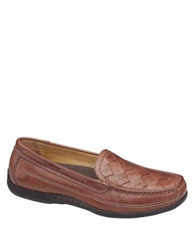 JOHNSTON & MURPHYTrevitt Woven Venetian Loafers