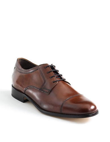JOHNSTON & MURPHY Emmert Leather Oxford Shoes