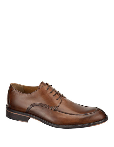 JOHNSTON & MURPHY Hartley Leather Y Moc Oxfords