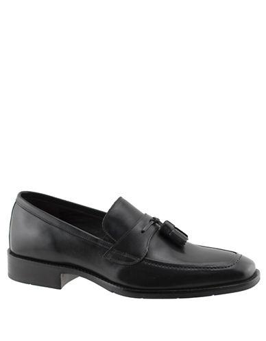 JOHNSTON & MURPHYLarsey Leather Tassel Loafers