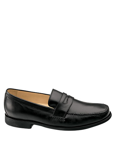 JOHNSTON & MURPHY Ainsworth Leather Penny Loafers