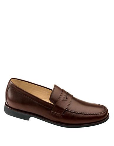 JOHNSTON & MURPHYAinsworth Leather Penny Loafers